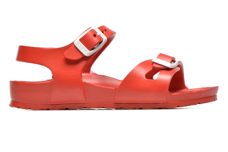 Sandales et nu-pieds Birkenstock Rio EVA Rouge vue derrière