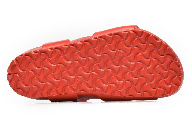 Sandali e scarpe aperte Birkenstock Rio EVA Rosso immagine dall'alto