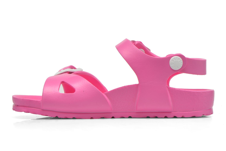 Sandales et nu-pieds Birkenstock Rio EVA Rose vue face