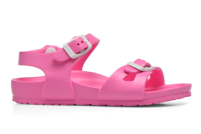 Sandali e scarpe aperte Birkenstock Rio EVA Rosa immagine posteriore