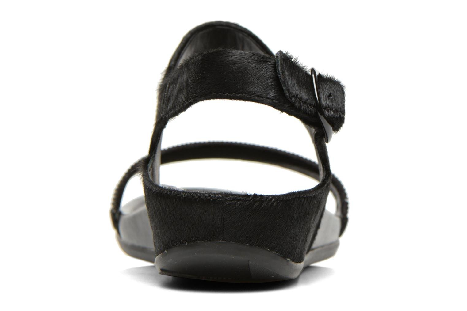 Sandals FitFlop Banda Micro C Black view from the right