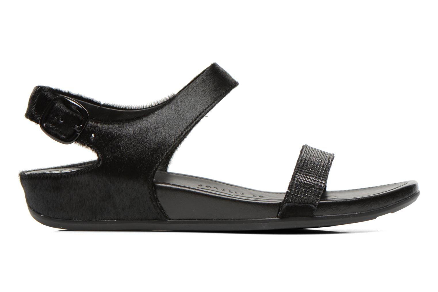 Sandals FitFlop Banda Micro C Black back view