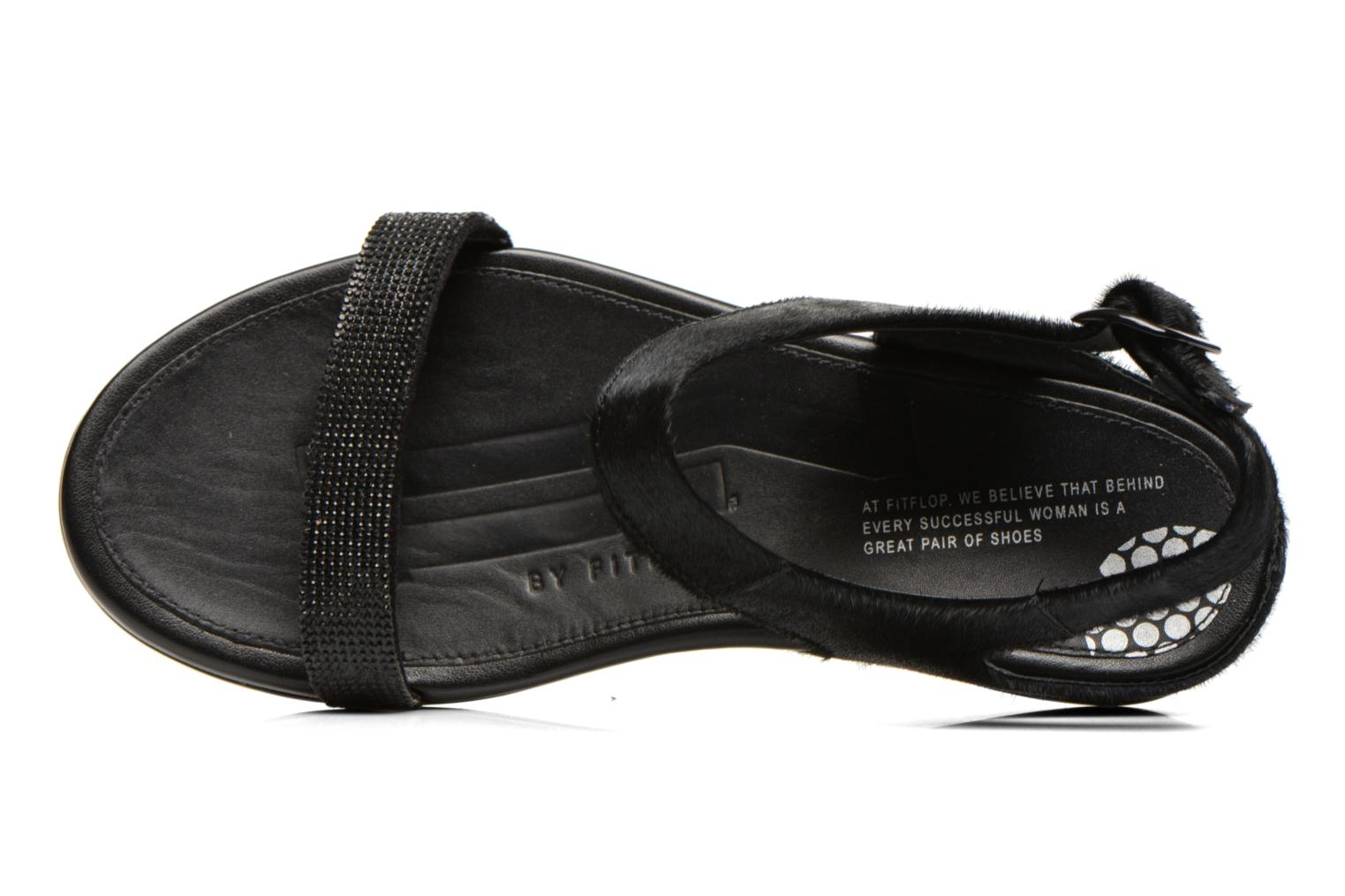 Sandals FitFlop Banda Micro C Black view from the left