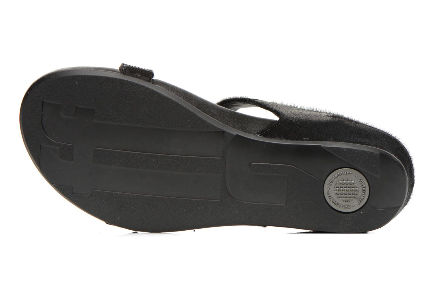 Sandals FitFlop Banda Micro C Black view from above