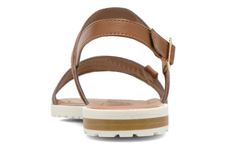 Sandales et nu-pieds I Love Shoes Subandi Marron vue droite