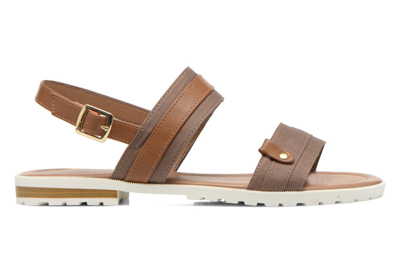 Sandales et nu-pieds I Love Shoes Subandi Marron vue derrière
