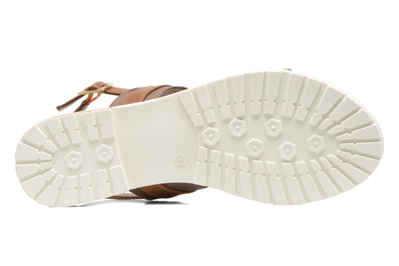 Sandales et nu-pieds I Love Shoes Subandi Marron vue haut