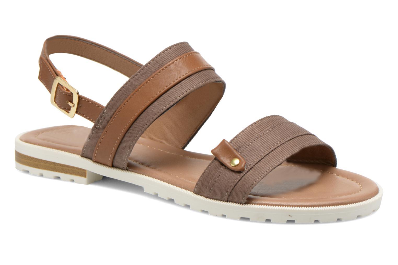 Sandales et nu-pieds I Love Shoes Subandi Marron vue détail/paire