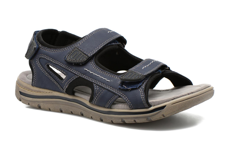 Sandalen I Love Shoes Sucolle Blauw detail