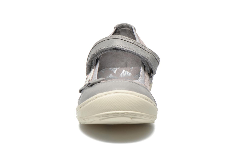 Ballerines P-L-D-M By Palladium Doris FL Gris vue portées chaussures