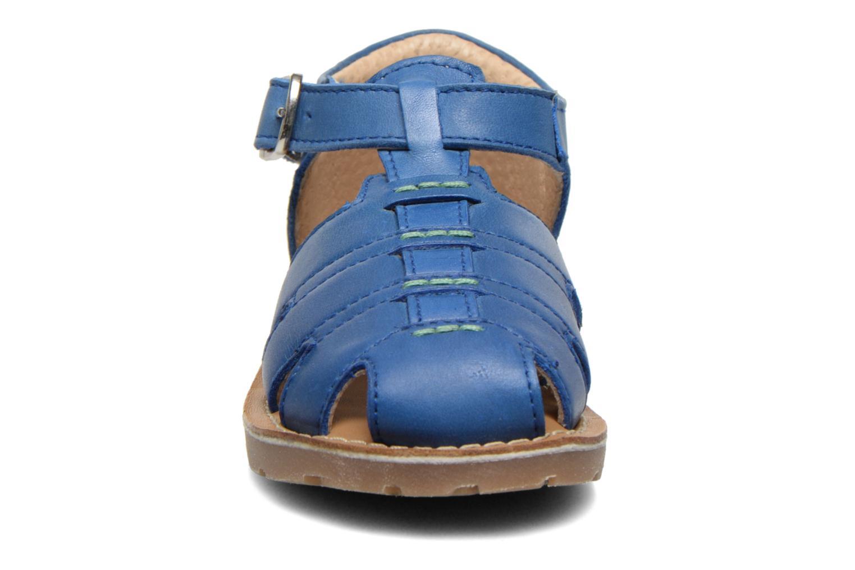 Sandales et nu-pieds Aster Ely Bleu vue portées chaussures
