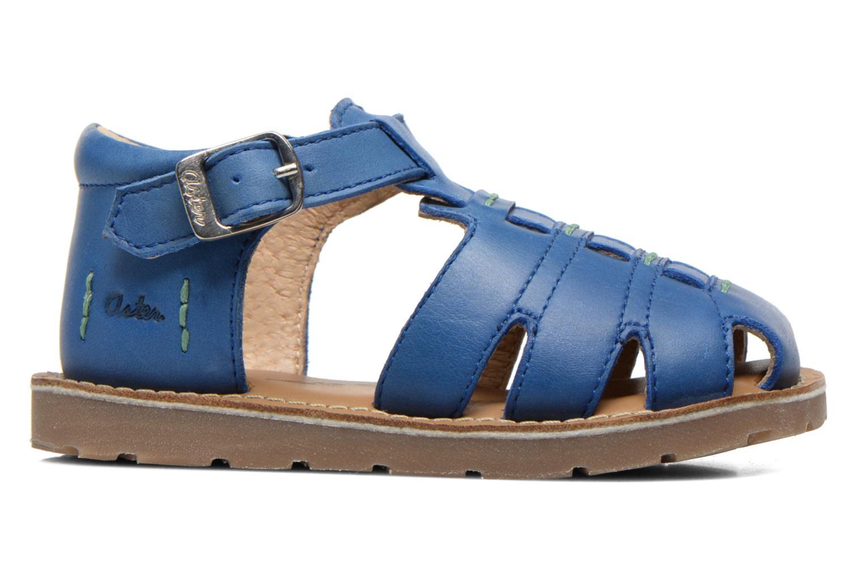 Sandales et nu-pieds Aster Ely Bleu vue derrière