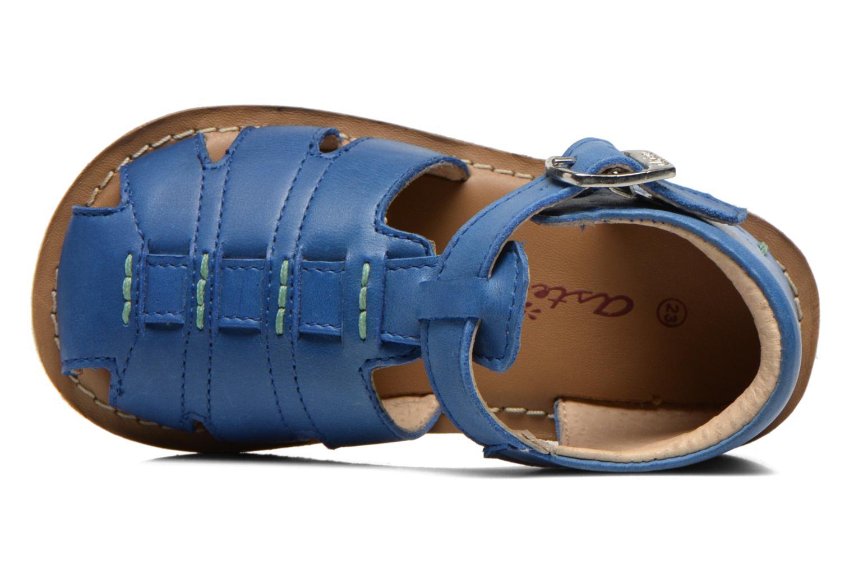 Sandales et nu-pieds Aster Ely Bleu vue gauche