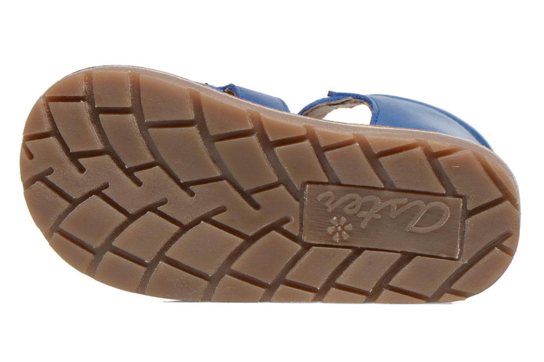Sandales et nu-pieds Aster Ely Bleu vue haut
