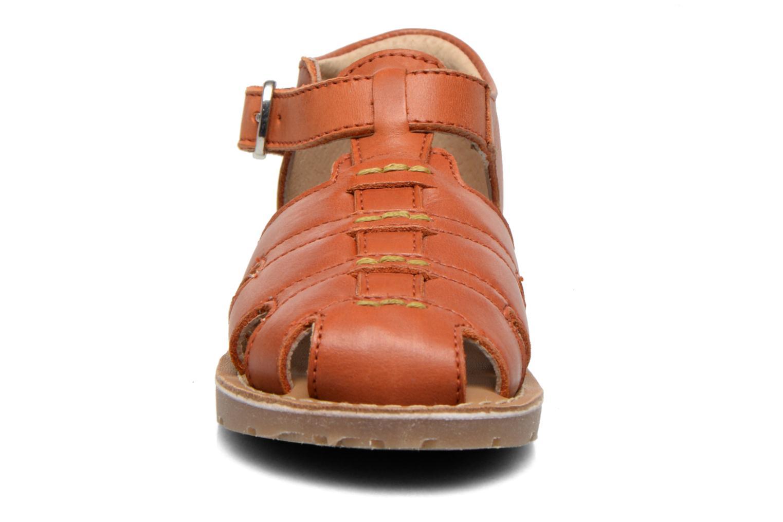 Sandales et nu-pieds Aster Ely Orange vue portées chaussures