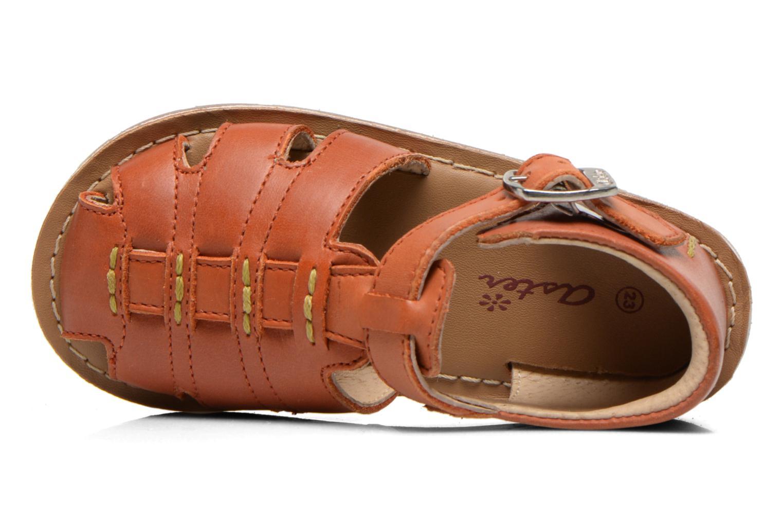 Sandales et nu-pieds Aster Ely Orange vue gauche