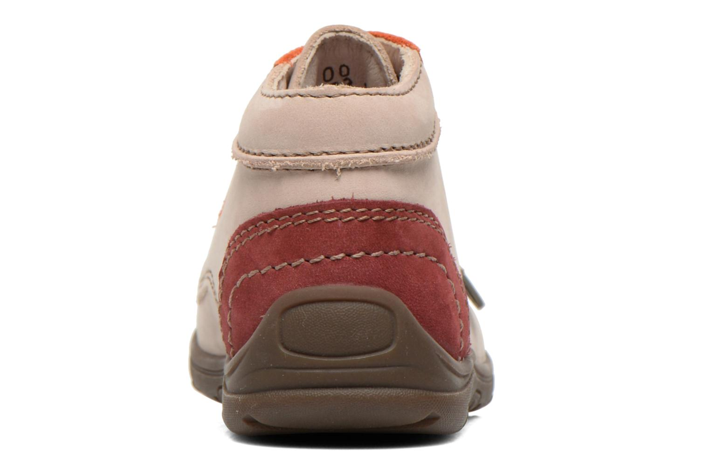 Bottines et boots Aster Tirlo Beige vue droite