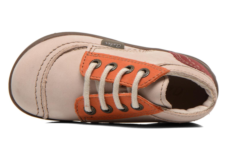 Bottines et boots Aster Tirlo Beige vue gauche
