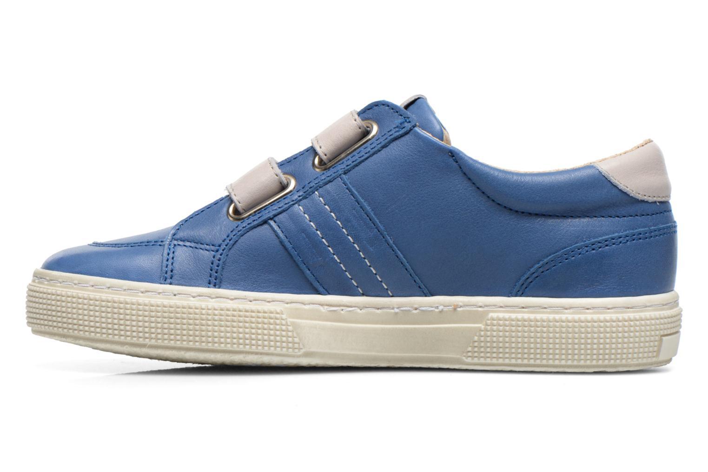 Chaussures à scratch Aster Caleb Bleu vue face