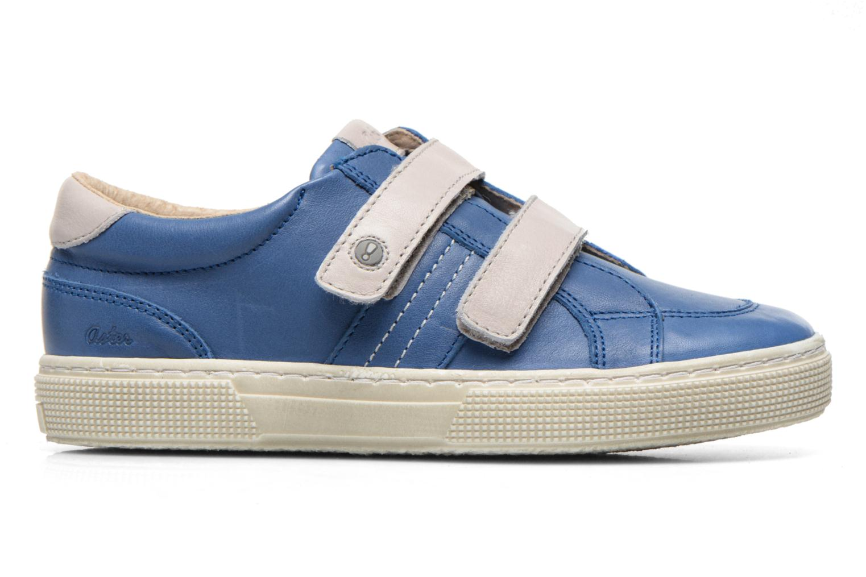 Chaussures à scratch Aster Caleb Bleu vue derrière