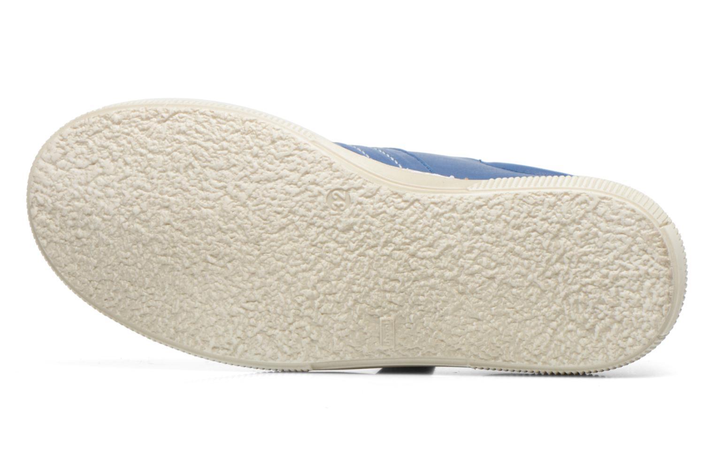 Chaussures à scratch Aster Caleb Bleu vue haut