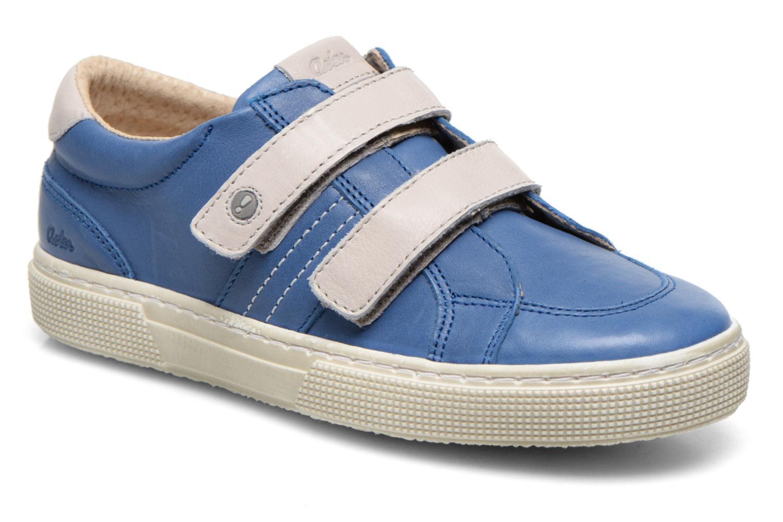 Chaussures à scratch Aster Caleb Bleu vue détail/paire