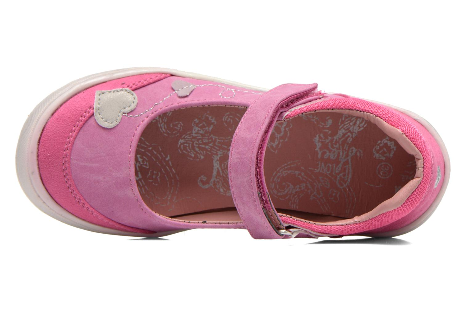 Ballerines I Love Shoes Subabies Rose vue gauche