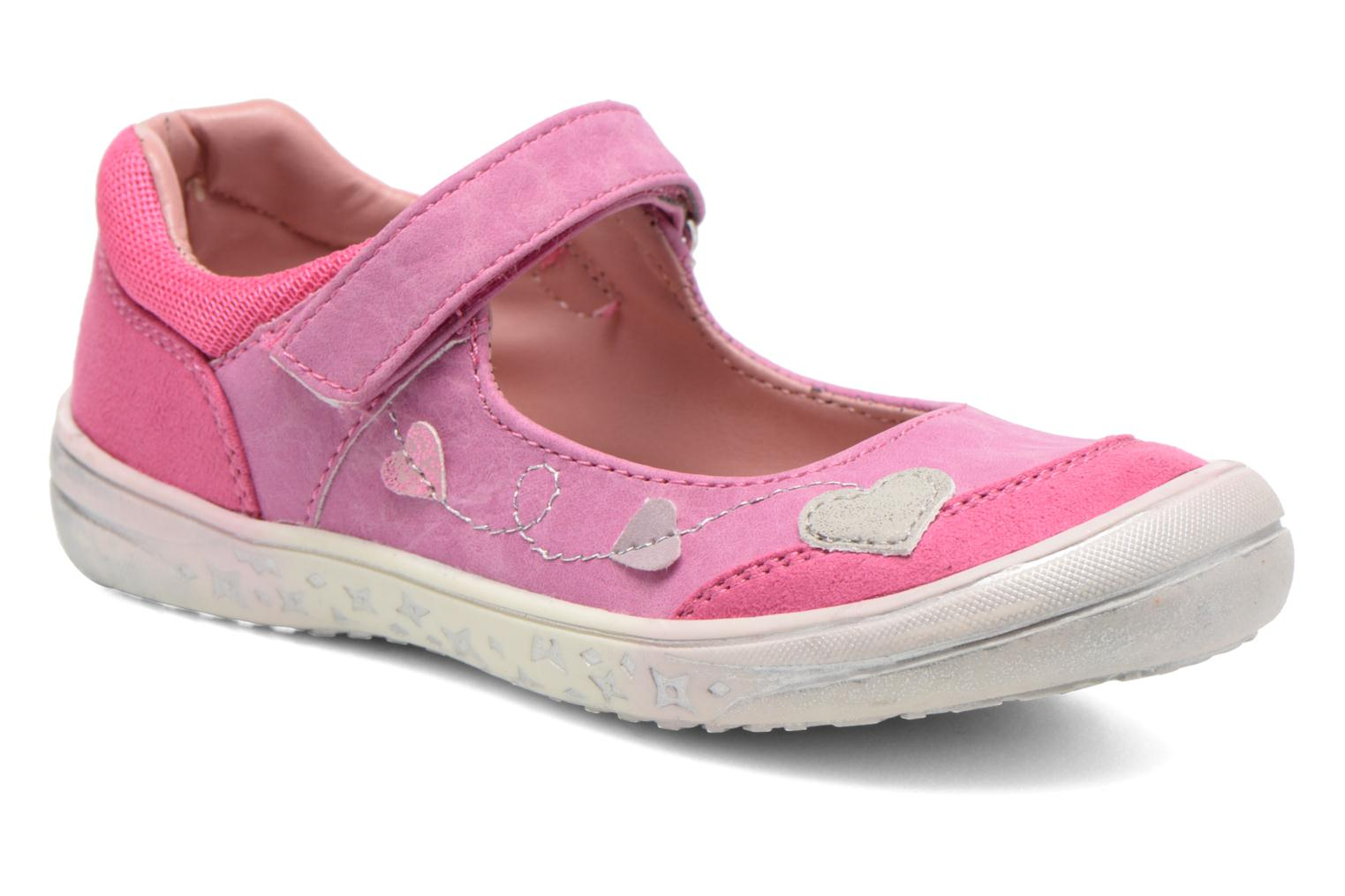 Ballerines I Love Shoes Subabies Rose vue détail/paire