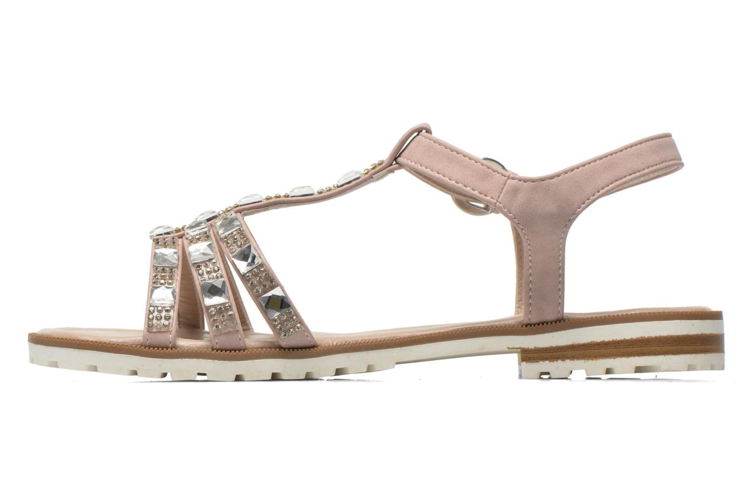 Sandals I Love Shoes Sutrass Pink front view