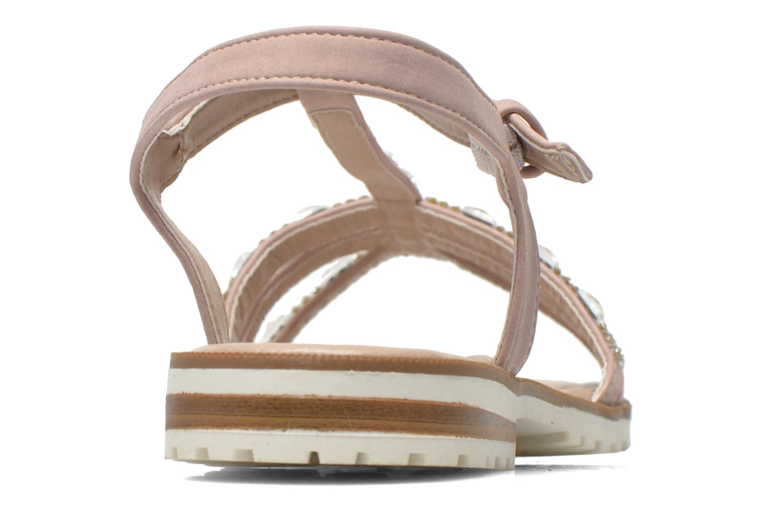 Sandals I Love Shoes Sutrass Pink view from the right