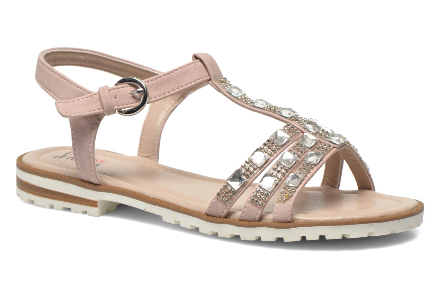 Sandals I Love Shoes Sutrass Pink detailed view/ Pair view