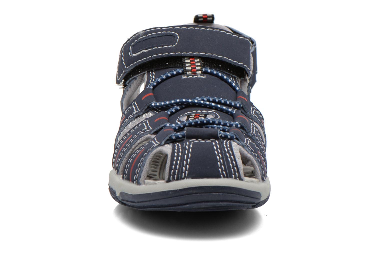 Sandales et nu-pieds I Love Shoes Sulivo Bleu vue portées chaussures