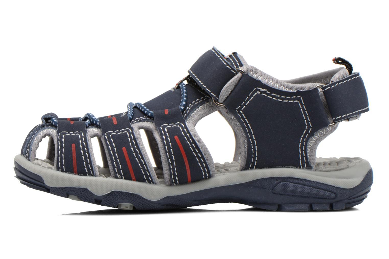 Sandales et nu-pieds I Love Shoes Sulivo Bleu vue face