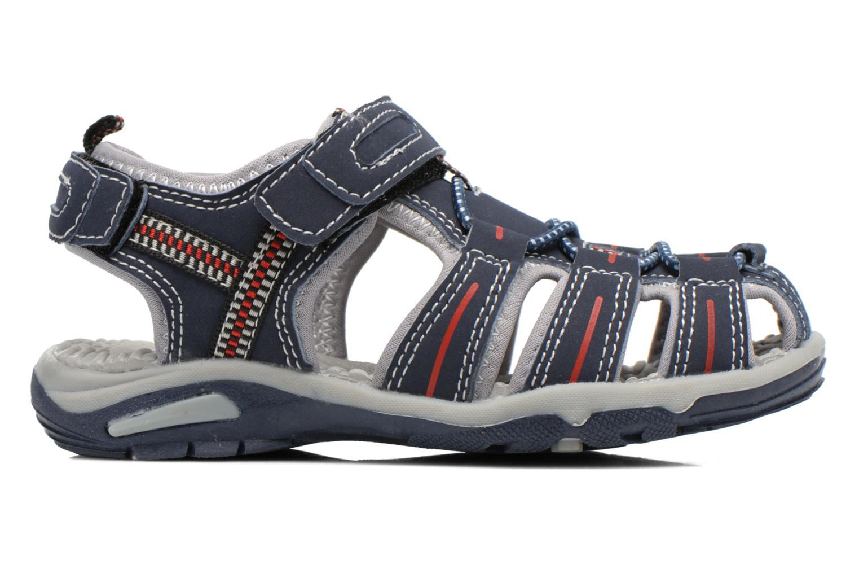 Sandales et nu-pieds I Love Shoes Sulivo Bleu vue derrière
