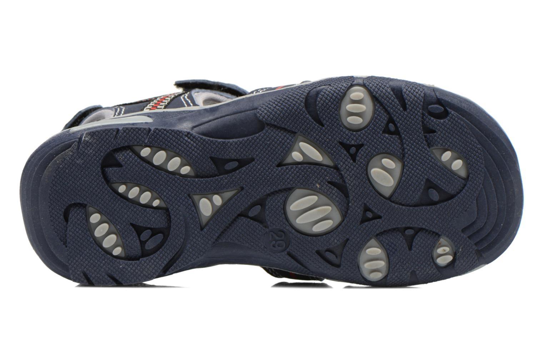 Sandales et nu-pieds I Love Shoes Sulivo Bleu vue haut