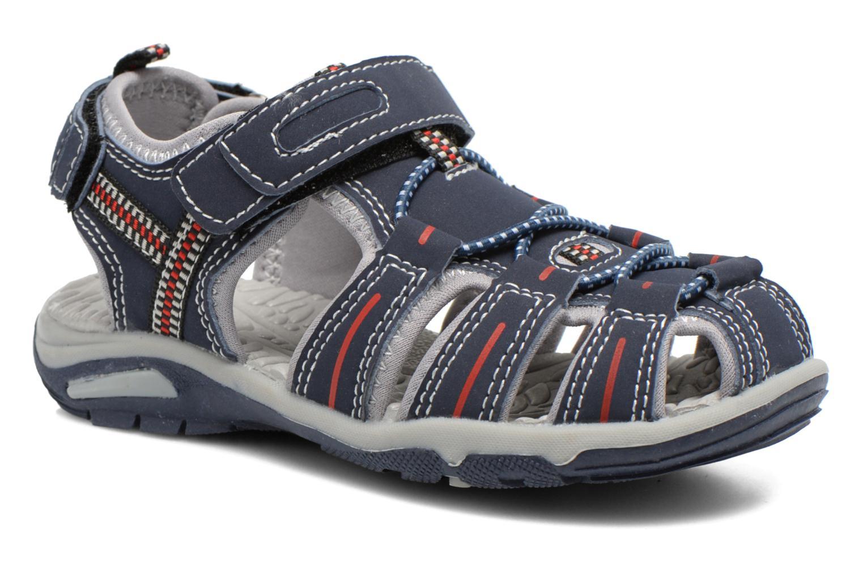 Sandales et nu-pieds I Love Shoes Sulivo Bleu vue détail/paire