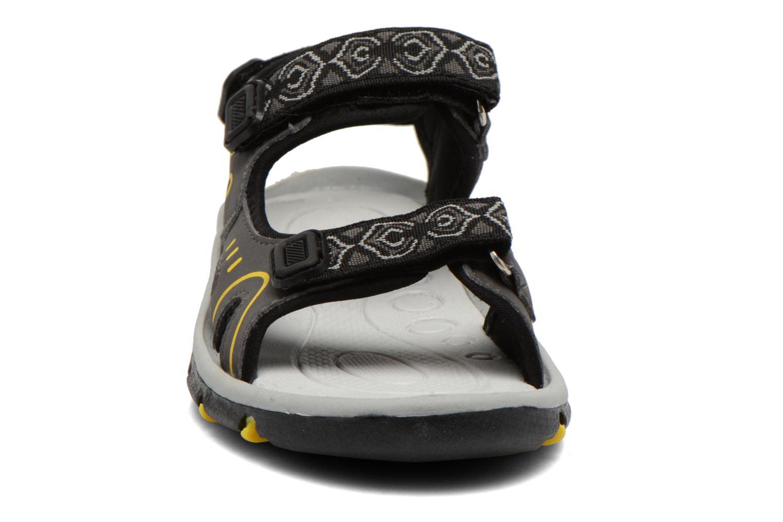 Sandales et nu-pieds I Love Shoes Suriver Noir vue portées chaussures