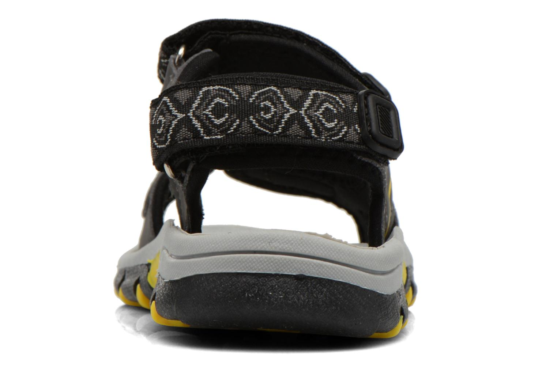 Sandales et nu-pieds I Love Shoes Suriver Noir vue droite