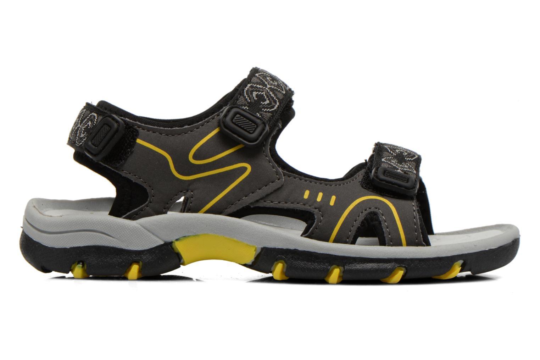 Sandales et nu-pieds I Love Shoes Suriver Noir vue derrière