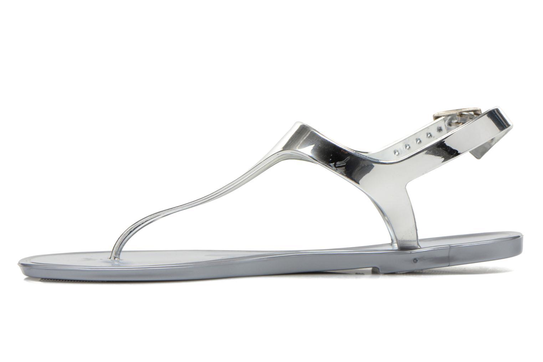 Sandales et nu-pieds Xti Okinawa-26987 Argent vue face