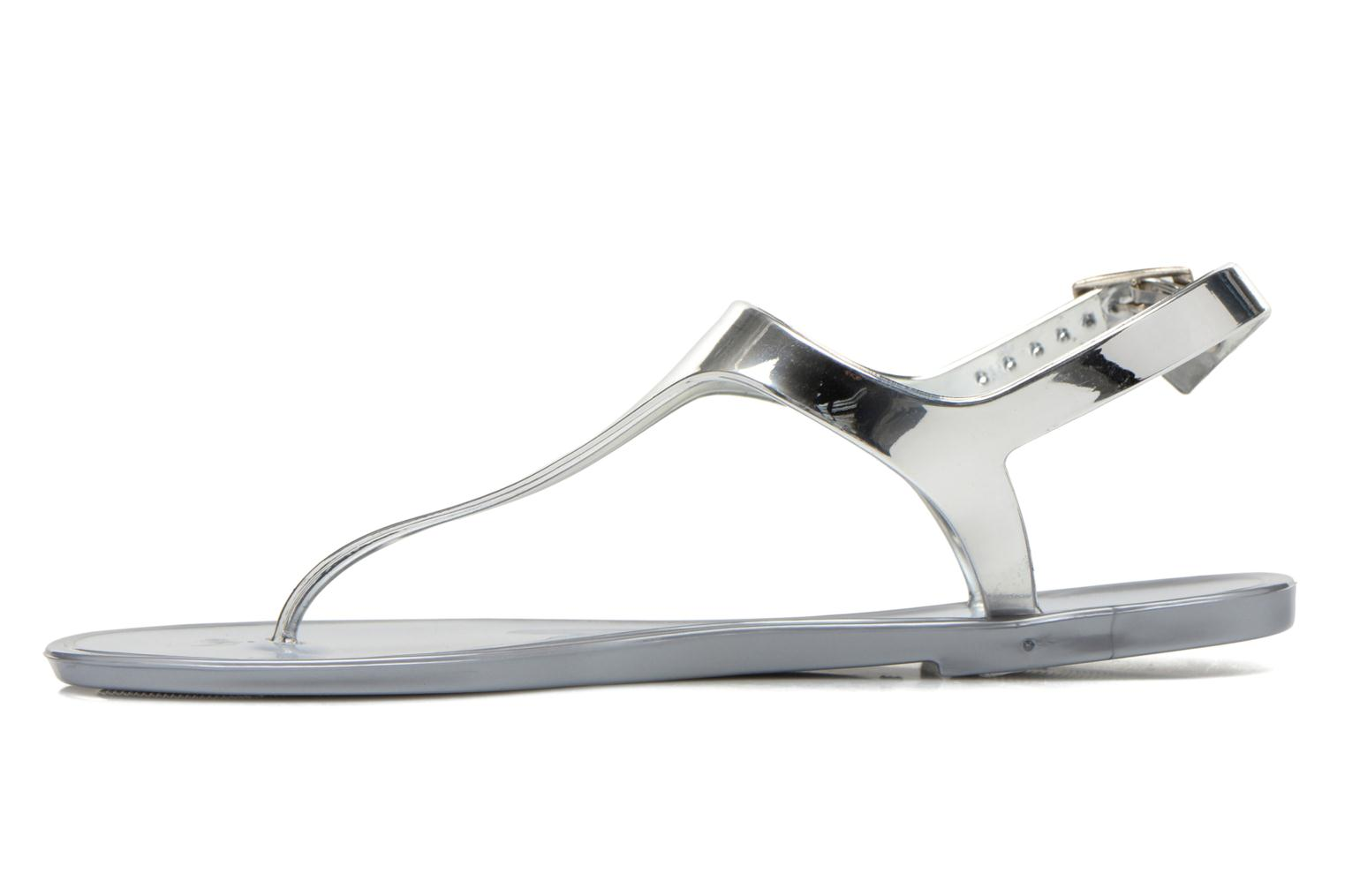 Sandals Xti Okinawa-26987 Silver front view