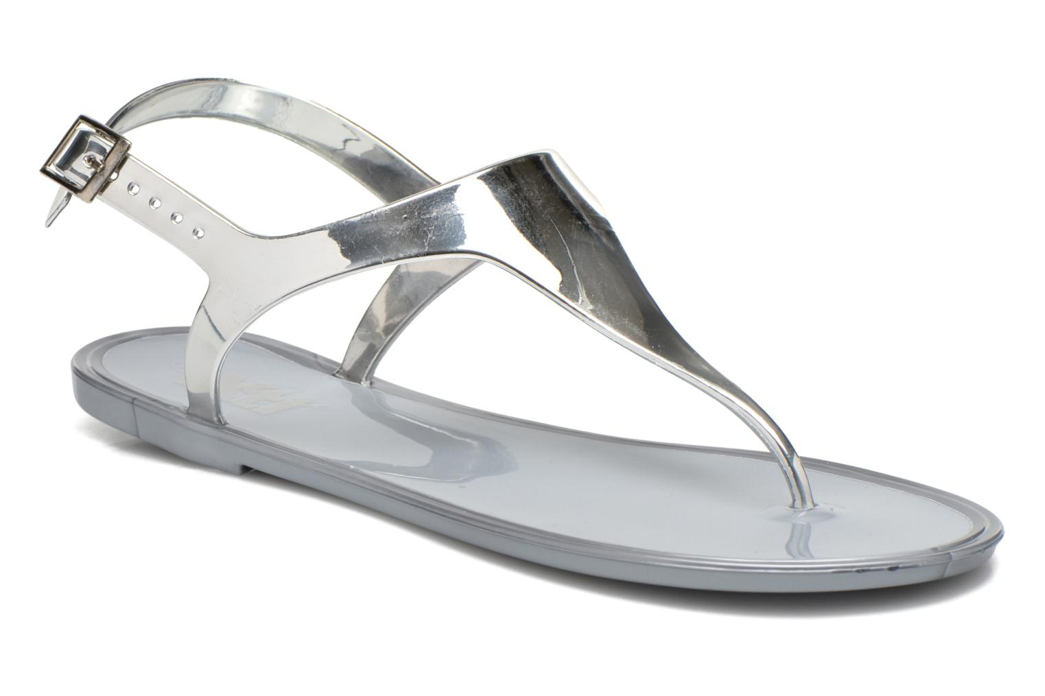 Sandals Xti Okinawa-26987 Silver detailed view/ Pair view