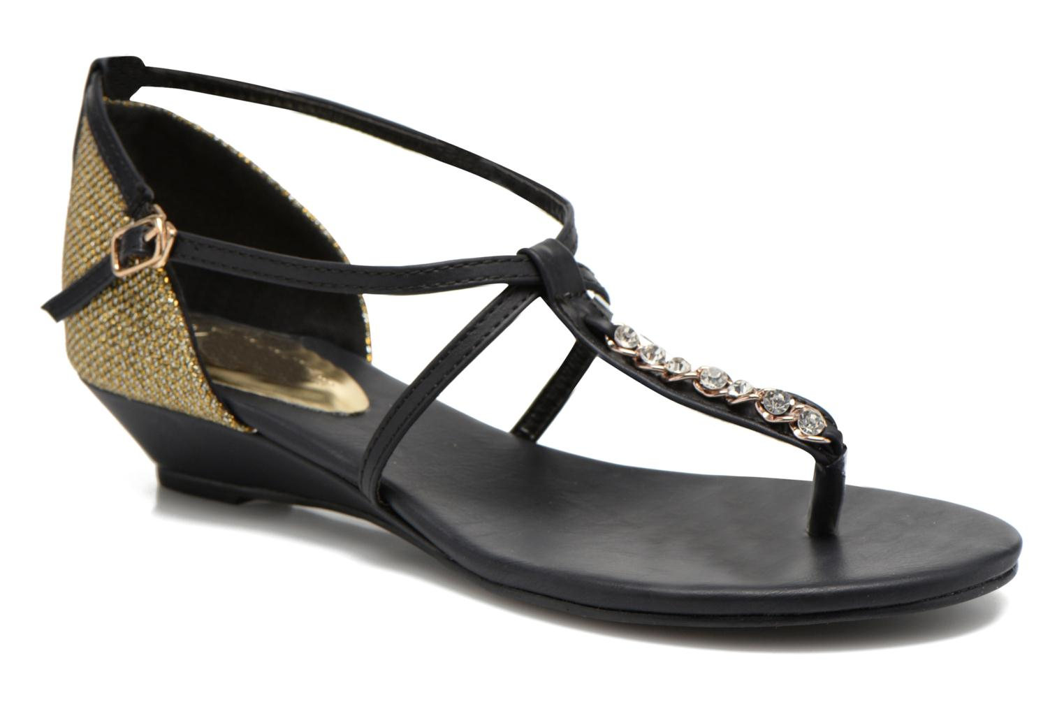 Sandals Xti Lahira-29506 Black detailed view/ Pair view
