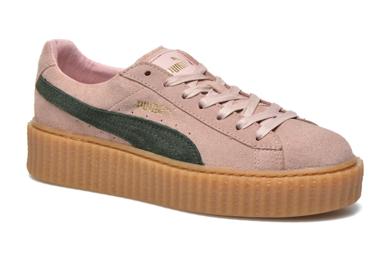 puma creepers rose pale