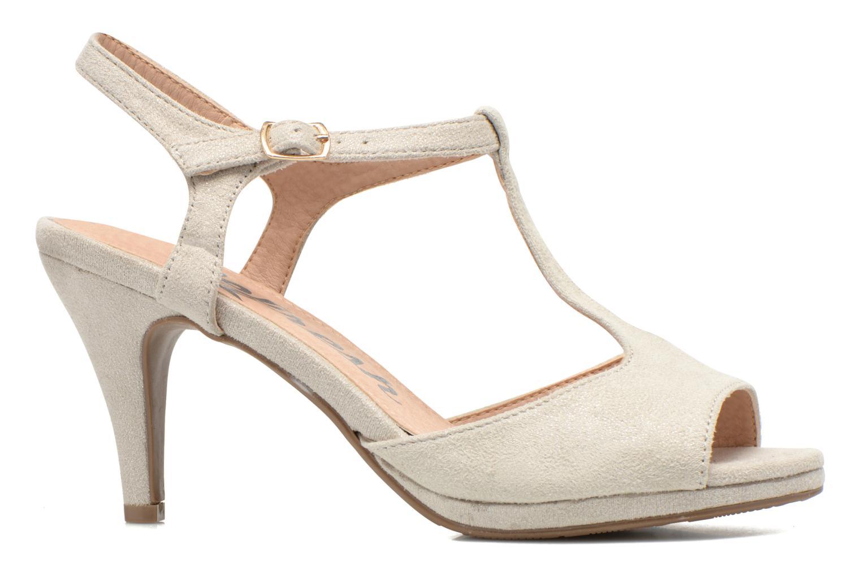 Sandales et nu-pieds Refresh Wanita Argent vue derrière