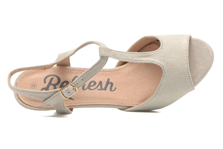 Sandales et nu-pieds Refresh Wanita Argent vue gauche