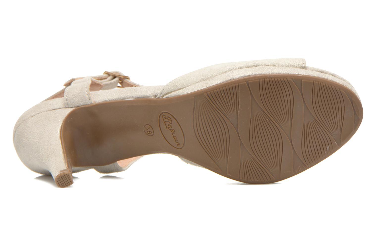 Sandales et nu-pieds Refresh Wanita Argent vue haut