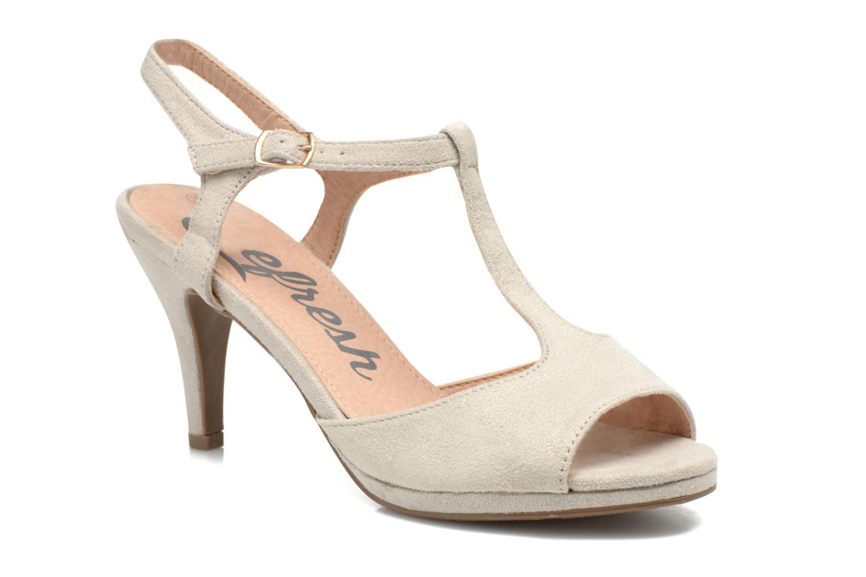 Sandales et nu-pieds Refresh Wanita Argent vue détail/paire