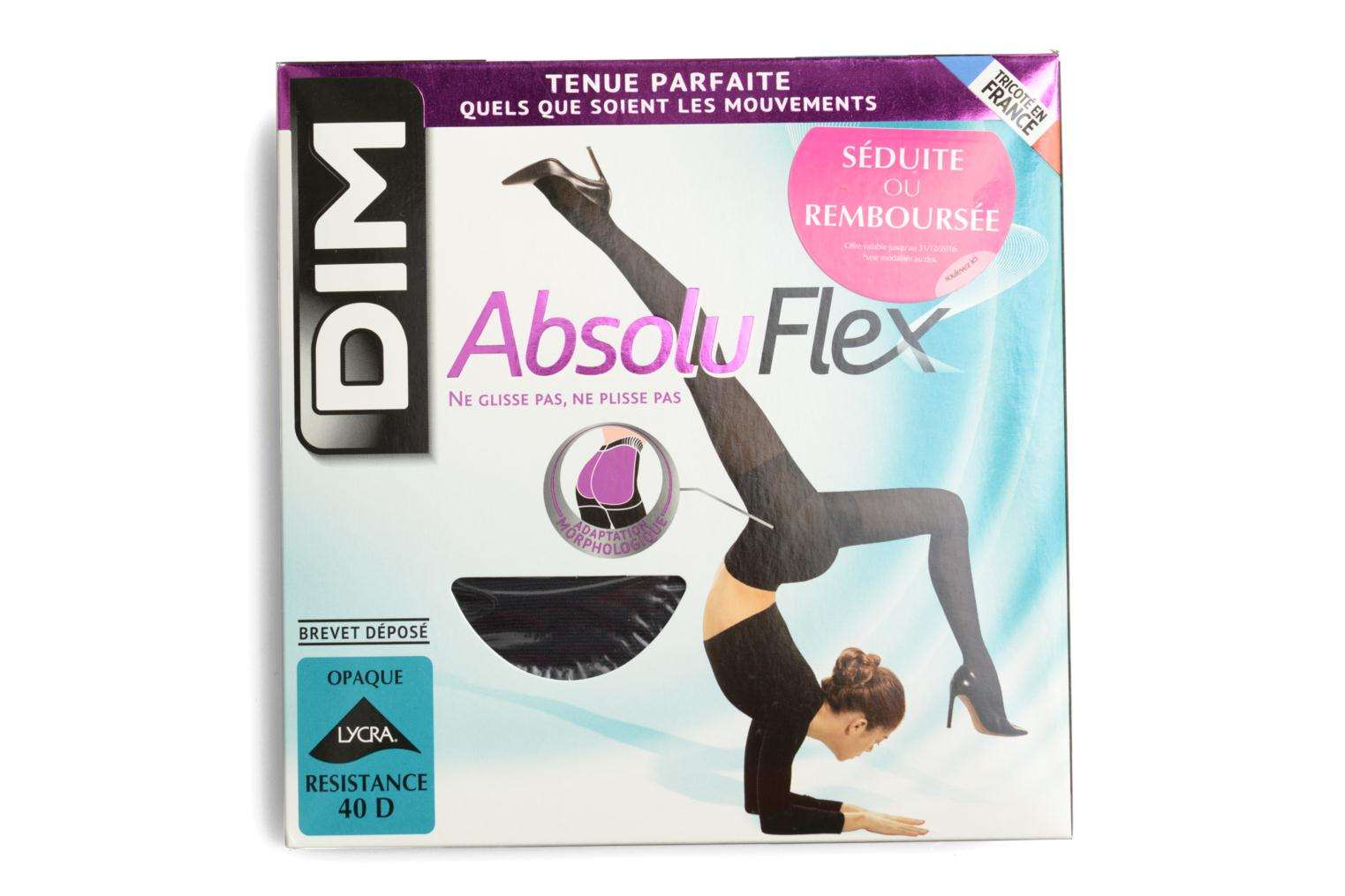 Collant ABSOLU FLEX OPAQUE 0HZ NOIR