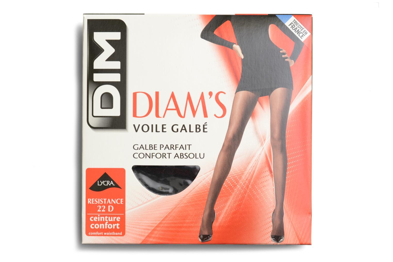 Chaussettes et collants Dim Collant DIAM'S VOILE GALBE Noir vue détail/paire